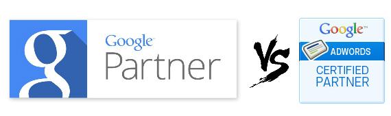 gogle new partner logo and old logo