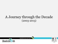 Journey of ZealousWeb