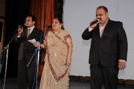 Inspirational prayer melodiously sung by Smt.Jyotiben and Chorus