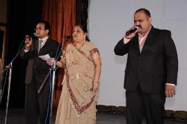 Inspirational prayer melodiously sung by Smt.Jyotiben and Chorus