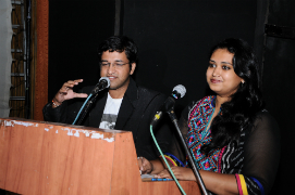 Welcome speech by Mr. Dhaval Trivedi and Ms. Chitra Pandya