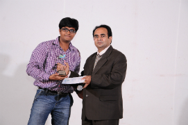 Kavish Jash got Newcomer Award