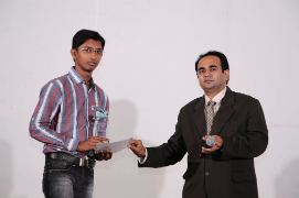 Chintan Dave got a Technical Achievement Award