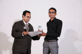 Dharmesh Suhagiya got Helping Hand of the Year Award