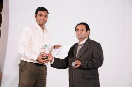 Jatin Patel got Performance of the Year Award