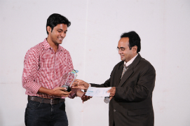 Timir Shah got Performance of the Year Award