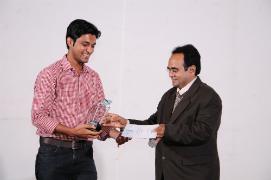 Timir Shah got Performance of the Year Award