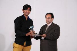 Hasmukh Tank got Performance of the Year Award