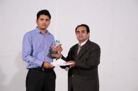 Piyush Patel got Performance of the Year Award