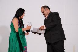 Dhruvi Patel got Employee of the Year Award