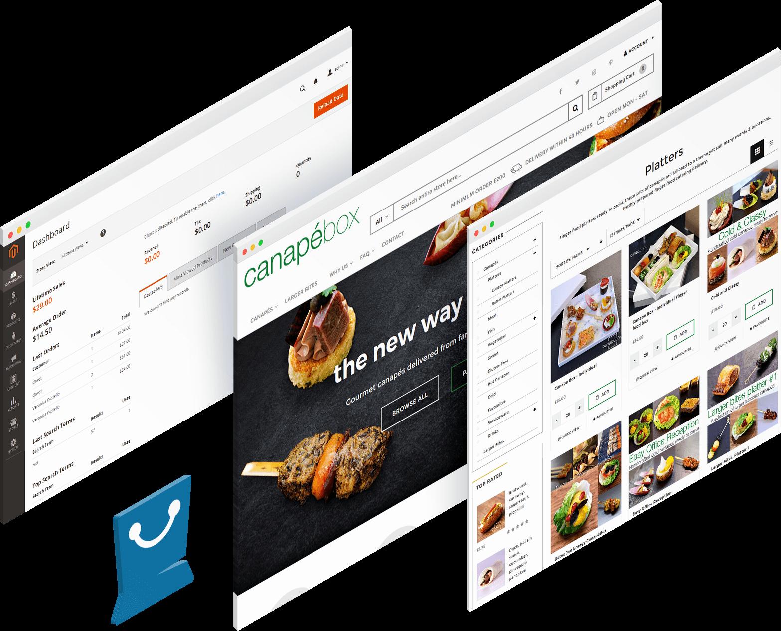 banner ecommerce solution
