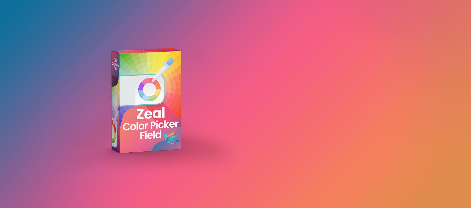 Zeal Color Picker Field