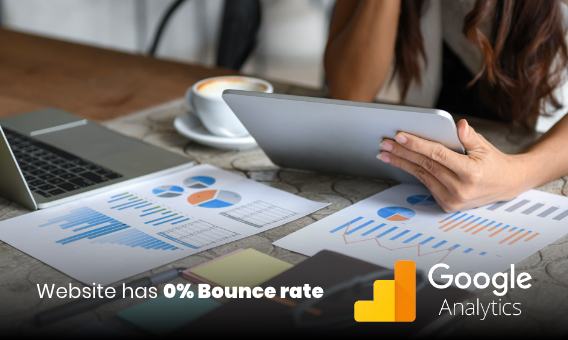 GA Bounce rate